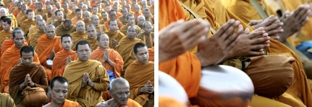 2009 commemoration monks at Takua Pa