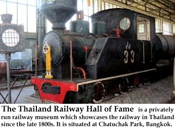 Thailand Railway Hall of fame in Bangkok