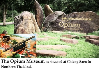 Opium Museum in Northern Thailand