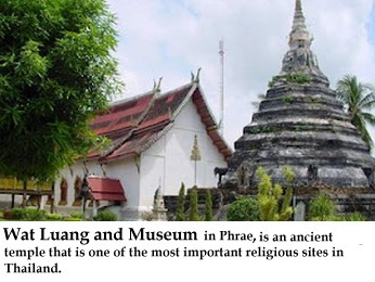Wat Luang and Museum in Phrae