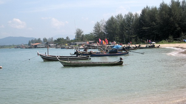 fishing village of Baan Nam Khem