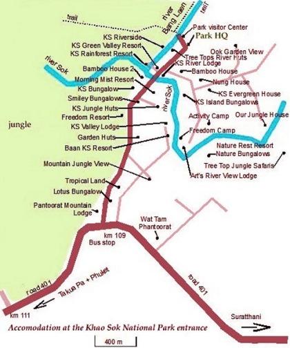 khao sok national park guide