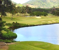Phuket Country Club -10th tee