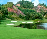 Red Mountain golf course Phuket