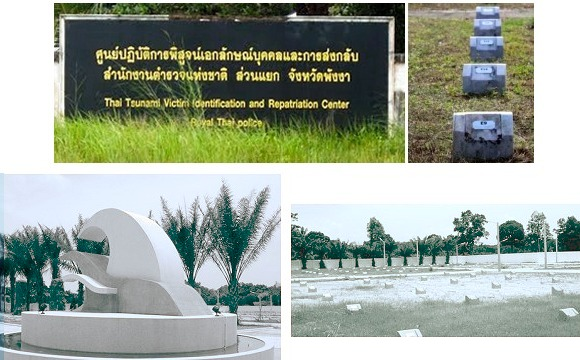 Bang Maruan Cemetery, and the Victim Identification and Repatriation Centre